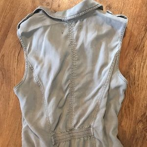 Max Jeans Jackets & Coats - Casual vest in gray from Max Jeans. Sz M